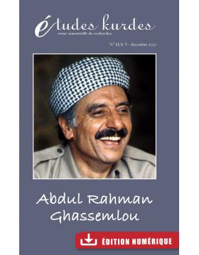 Études kurdes - N° HS V -...