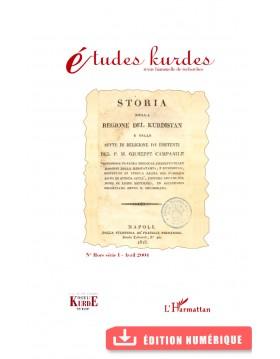 Études kurdes - N° HS I -...
