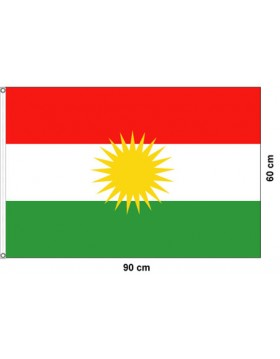 Flag of Kurdistan - 90x50cm